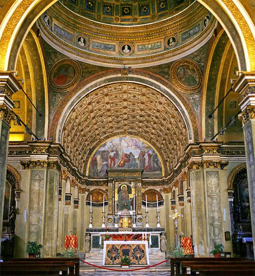 san satiro church optical illusion walking tours milan guided tour
