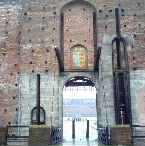 sforza castle castello sforzesco milan guided tour