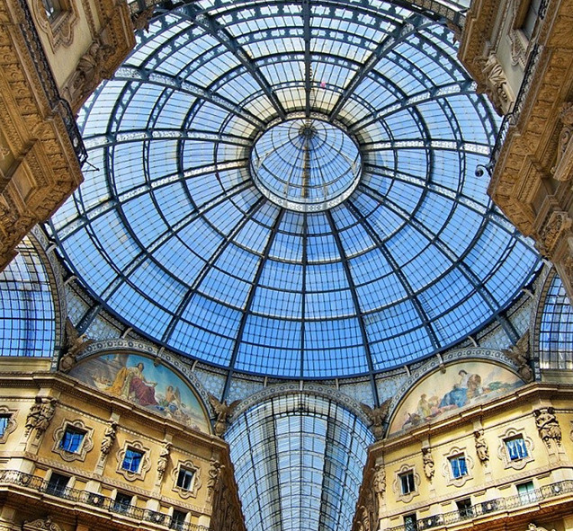Galleria Vittorio Emanuele milan walking tour