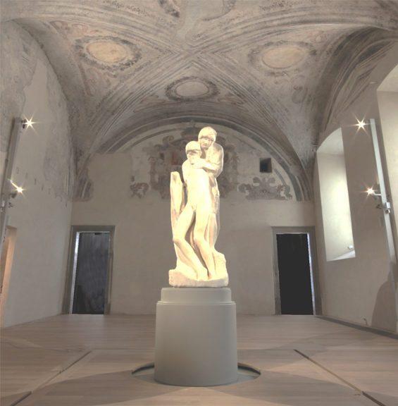 sforza castle castello sforzesco pietà rondanini milan guided tour