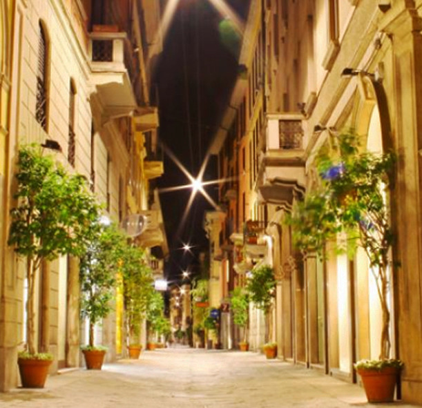 luxury brand montenapoleone via della spiga milan shopping tour