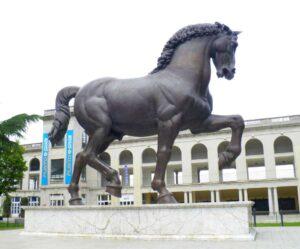 Leonardo Horse Milan Ippodromo del Galoppo Milan guided tour